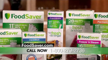 FoodSaver FM5000 Series TV Spot, 'Minimize Waste and Maximize Money' - Thumbnail 7