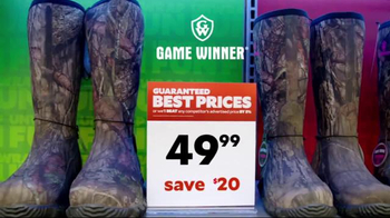 Academy Sports + Outdoors TV Spot, 'Hunting Boots for the Holidays' - Thumbnail 5