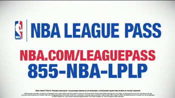 NBA League Pass TV Spot, 'Tu asiento de primera fila' [Spanish] - Thumbnail 2