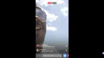 Facebook Live TV Spot, 'Beach' - Thumbnail 5
