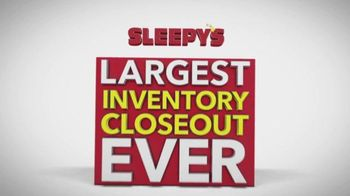 Sleepy's Largest Inventory Closeout Ever TV Spot, 'Reductions'