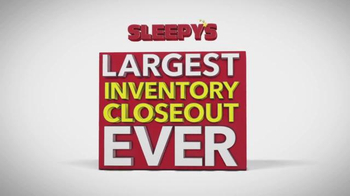 Sleepy's Largest Inventory Closeout Ever TV Spot, 'Reductions' - Thumbnail 3