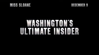Miss Sloane - Alternate Trailer 1