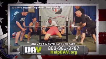 Disabled American Veterans TV Spot, \'A Lifetime of Support: Bob Body\'
