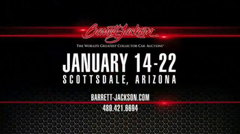 Barrett-Jackson TV Spot, 'Scottsdale' - Thumbnail 9