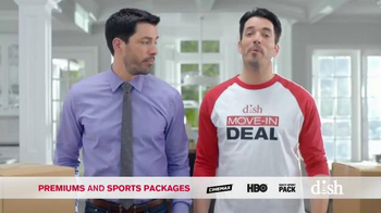 Dish Network Move-In Deal TV Spot, 'HGTV: Property Brothers Magic T-Shirt' - Thumbnail 2