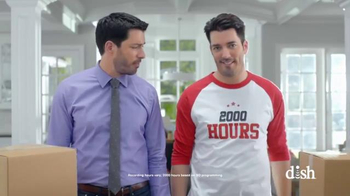 Dish Network Move-In Deal TV Spot, 'HGTV: Property Brothers Magic T-Shirt' - Thumbnail 4