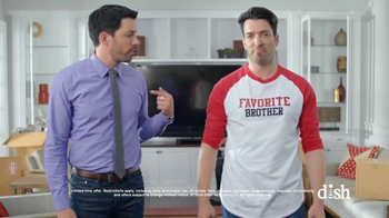 Dish Network Move-In Deal TV Spot, 'HGTV: Property Brothers Magic T-Shirt'