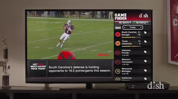 Dish Network Multi-Sport Pack TV Spot, 'Pro Football' Feat. Chris Fowler - Thumbnail 4
