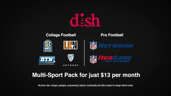 Dish Network Multi-Sport Pack TV Spot, 'Pro Football' Feat. Chris Fowler - Thumbnail 6