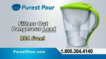 Aerus Purest Pour Water Pitcher TV Spot, 'Clean, Refreshing Water' - 4 commercial airings