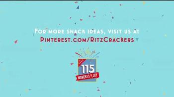 Ritz Crackers TV Spot, 'Tailgate Sliders' - Thumbnail 7
