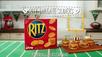 Ritz Crackers TV Spot, 'Tailgate Sliders' - Thumbnail 6