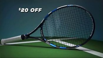 Tennis Warehouse Babolat Pure Drive Racquet TV Spot, 'Demo to Purchase'