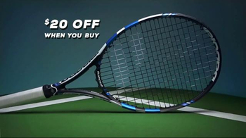 Tennis Warehouse Babolat Pure Drive Racquet TV Spot, 'Demo to Purchase' - Thumbnail 3