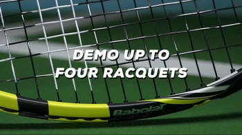 Tennis Warehouse Babolat Pure Drive Racquet TV Spot, 'Demo to Purchase' - Thumbnail 4