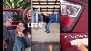 2017 Ford Escape TV Spot, 'Life is a Sport' - Thumbnail 9