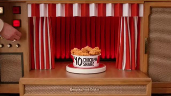KFC $10 Chicken Share TV Spot, 'Breakthrough Bucket Technology' - Thumbnail 2