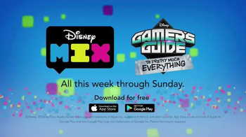 Disney Mix TV Spot, 'Gamer's Guide to Just About Everything Takeover!' - Thumbnail 5