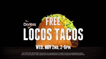 Taco Bell Steal a Base, Steal a Taco TV Spot, 'Free Doritos Locos Tacos' - Thumbnail 5