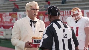 KFC $10 Chicken Share TV Spot, 'Bad Call' Featuring Rob Riggle