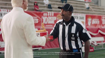 KFC $10 Chicken Share TV Spot, 'Bad Call' Featuring Rob Riggle - Thumbnail 4