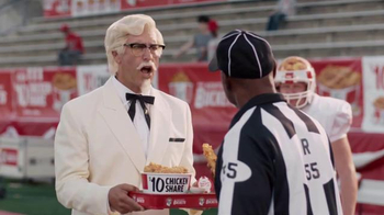 KFC $10 Chicken Share TV Spot, 'Bad Call' Featuring Rob Riggle - Thumbnail 5