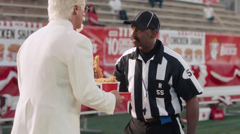KFC $10 Chicken Share TV Spot, 'Bad Call' Featuring Rob Riggle - Thumbnail 6