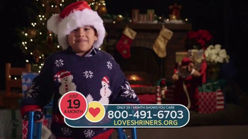 Shriners Hospitals for Children TV Spot, ''Twas the Night Before Christmas' - Thumbnail 4