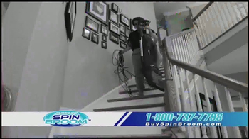 Hurricane Spin Broom TV Spot, 'Triple Brush Technology' - Thumbnail 6