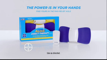 Aleve Direct Therapy TV Spot, 'The Search for Relief' - Thumbnail 10