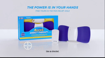 Aleve Direct Therapy TV Spot, 'The Search for Relief' - Thumbnail 9