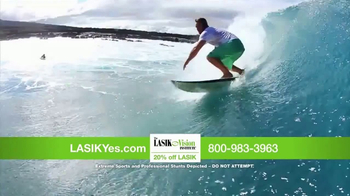 The LASIK Vision Institute TV Spot, 'Living Every Day to the Fullest'