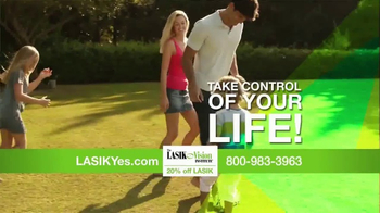 The LASIK Vision Institute TV Spot, 'Living Every Day to the Fullest' - Thumbnail 9