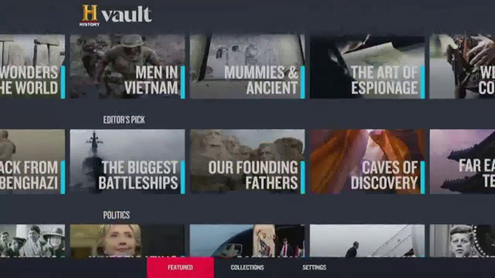 History Vault TV Commercial, 'Perfect Gift for the History Buffs'