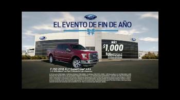 Ford El Evento de Fin de Año TV Spot, 'Ahorra en grande' [Spanish] - Thumbnail 9