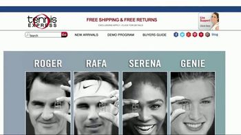 Tennis Express TV Spot, 'Holiday Pro Player Gear' - 33 commercial airings