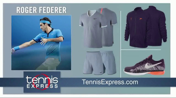 Tennis Express TV Spot, 'Holiday Pro Player Gear' - Thumbnail 2