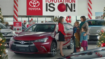 Toyota Toyotathon TV Spot, 'Celebrate: 2017 Camry' - 3 commercial airings
