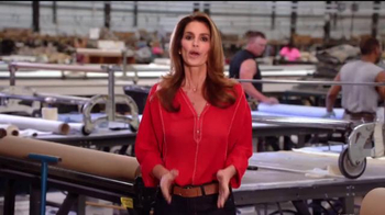 Rooms to Go Cindy Crawford Home TV Spot, 'American-Made' Ft. Cindy Crawford - Thumbnail 1