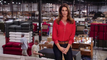 Rooms to Go Cindy Crawford Home TV Spot, \'American-Made\' Ft. Cindy Crawford