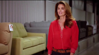 Rooms to Go Cindy Crawford Home TV Spot, 'American-Made' Ft. Cindy Crawford - Thumbnail 9