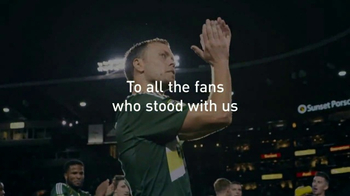 Major League Soccer TV Spot, 'Thanks to the Fans' - Thumbnail 7