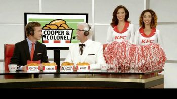 KFC $10 Chicken Share TV Spot, 'Cooper & The Colonel' Feat. Cooper Manning