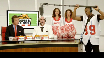 KFC $10 Chicken Share TV Spot, 'Cooper & The Colonel' Feat. Cooper Manning - Thumbnail 9