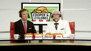 KFC $10 Chicken Share TV Spot, 'Cooper & The Colonel' Feat. Cooper Manning - Thumbnail 1