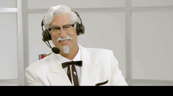 KFC $10 Chicken Share TV Spot, 'Cooper & The Colonel' Feat. Cooper Manning - Thumbnail 3