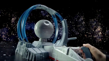 Hot Wheels Star Wars Carships Death Star Revolution Race TV Spot, 'Destroy' - 203 commercial airings