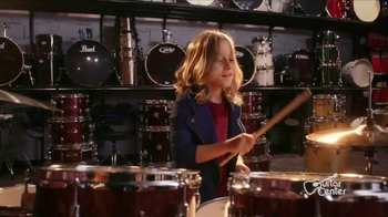 Guitar Center Holiday Sale TV Spot, 'Best Gift Ever Center: Drums & String' - Thumbnail 1