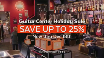 Guitar Center Holiday Sale TV Spot, 'Best Gift Ever Center: Drums & String' - Thumbnail 10